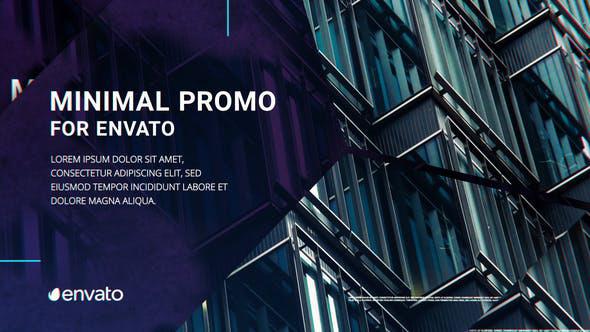 دانلود پروژه افترافکت با موزیک  معرفی شرکت و محصولات Minimal Company Promo