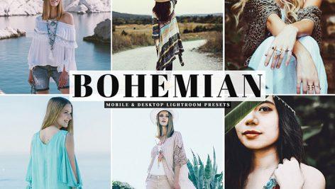 دانلود پریست لایتروم و Camera Raw و اکشن Bohemian Pro Lightroom Presets