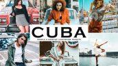 دانلود پریست لایتروم و Camera Raw و اکشن: Cuba Lightroom Presesets Pack