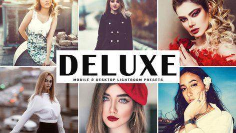 دانلود پریست لایتروم و Camera Raw و اکشن: Deluxe Lightroom Presets Pack