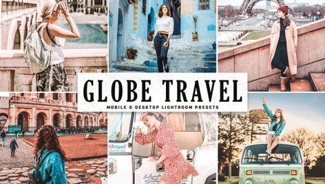 دانلود پریست لایتروم و Camera Raw و اکشن: Globe Travel Lightroom Presets