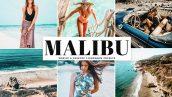 دانلود پریست لایتروم و Camera Raw و اکشن Malibu Lightroom Presets Pack