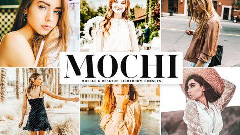 دانلود پریست لایتروم و Camera Raw و اکشن: Mochi Lightroom Presets Pack
