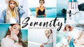 دانلود پریست لایتروم و Camera Raw و اکشن Serenity Lightroom Presets Pack