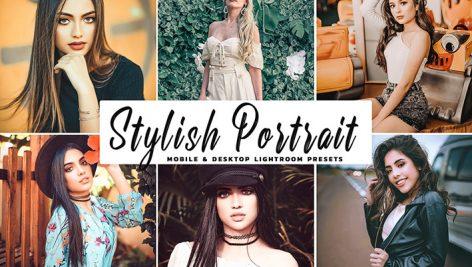 دانلود پریست لایتروم و Camera Raw و اکشن: Stylish Portrait Lightroom Presets