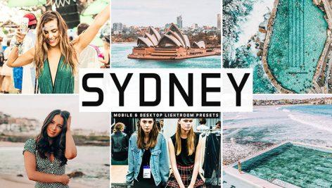 دانلود پریست لایتروم و Camera Raw و اکشن: Sydney Lightroom Presets Pack