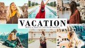 دانلود پریست لایتروم و Camera Raw و اکشن: Vacation Lightroom Presets Pack