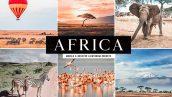 دانلود پریست لایت روم و Camera Raw و اکشن: Africa Lightroom Presets Collection