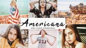 دانلود پریست لایت روم و Camera Raw و اکشن: Americana Pro Lightroom Presets