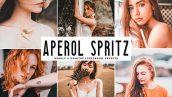 دانلود پریست لایت روم و Camera Raw و اکشن: Aperol Spritz Lightroom Presets