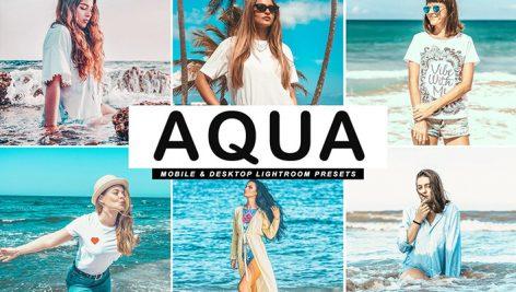دانلود پریست لایت روم و Camera Raw و اکشن: Aqua Pro Lightroom Presets