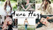 دانلود پریست لایت روم و Camera Raw و اکشن: Aura Haze Mobile Desktop Lightroom Presets