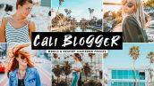 دانلود پریست لایت روم و Camera Raw و اکشن: Cali Blogger Mobile Desktop Lightroom Presets