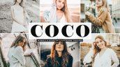 دانلود پریست لایت روم و Camera Raw و اکشن: Coco Mobile Desktop Lightroom Presets