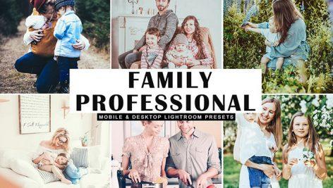 دانلود پریست لایت روم و Camera Raw و اکشن: Family Professional Lightroom Preset