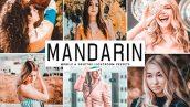 دانلود پریست لایت روم و Camera Raw و اکشن: Mandarin Mobile Desktop Lightroom Presets