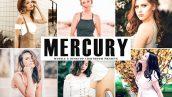 دانلود پریست لایت روم و Camera Raw و اکشن: Mercury Pro Lightroom Presets