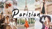 دانلود پریست لایت روم و Camera Raw و اکشن: Parisian Lightroom Presets Pack