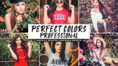 دانلود پریست لایت روم و Camera Raw و اکشن: Perfect Colors Mobile Desktop Lightroom Presets