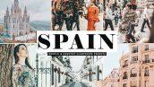 دانلود پریست لایت روم و Camera Raw و اکشن: Spain Mobile Desktop Lightroom Presets