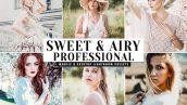 دانلود پریست لایت روم و Camera Raw و اکشن: Sweet Airy Mobile Desktop Lightroom Presets