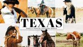 دانلود پریست لایت روم و Camera Raw و اکشن: Texas Mobile Desktop Lightroom Presets