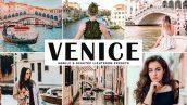 دانلود پریست لایت روم و Camera Raw و اکشن: Venice Mobile Desktop Lightroom Presets