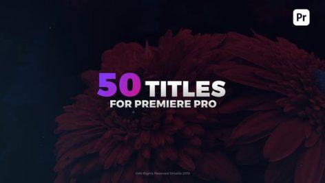 دانلود ۵۰ تایتل آماده پریمیر زیبا و مدرن : Modern Titles