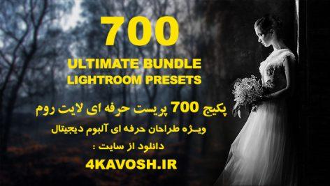دانلود 700 پریست لایت روم فوق حرفه ای : Lightroom Presets Bundle