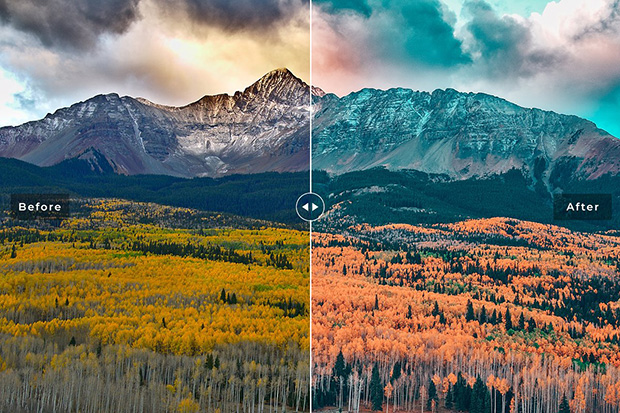 دانلود پریست لایت روم و Camera Raw و اکشن: Aspen Pro Lightroom Presets