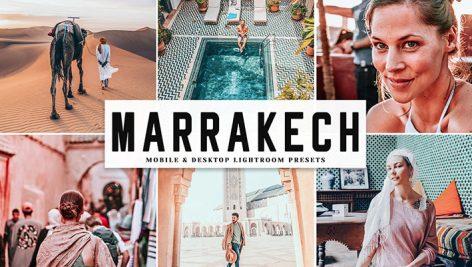دانلود پریست لایت روم و Camera Raw و اکشن: Marrakech Mobile Desktop Lightroom Presets