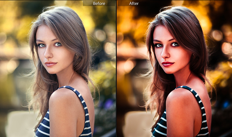 دانلود پریست لایت روم دسکتاپ : Nazzario Portrait Lightroom Presets Workflow