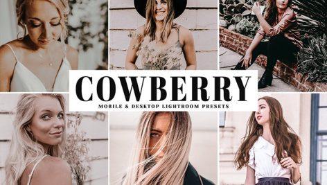 دانلود پریست لایت روم و Camera Raw و اکشن: Cowberry Lightroom Presets Pack