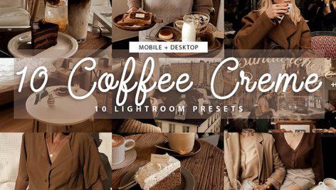 دانلود مجموعه پریست لایت روم Brown Coffee Lightroom Presets