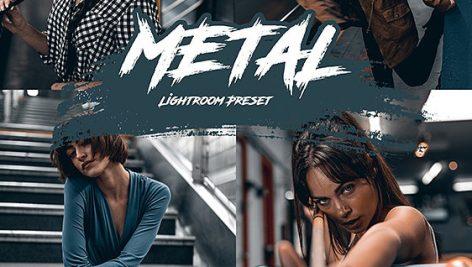 دانلود مجموعه پریست لایت روم : Metal Lightroom Preset