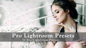 دانلود مجموعه 50 پریست لایت روم دسکتاپ : Pro Lightroom Presets