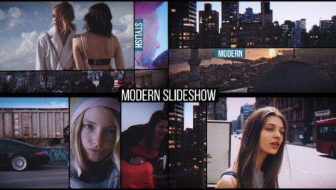 دانلود پروژه آماده افترافکت با موزیک : اسلایدشو Modern Slideshow