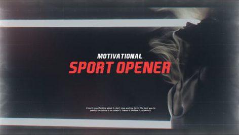 دانلود پروژه آماده افترافکت با موزیک : تیتراژ فیلم Motivational Sport Opener