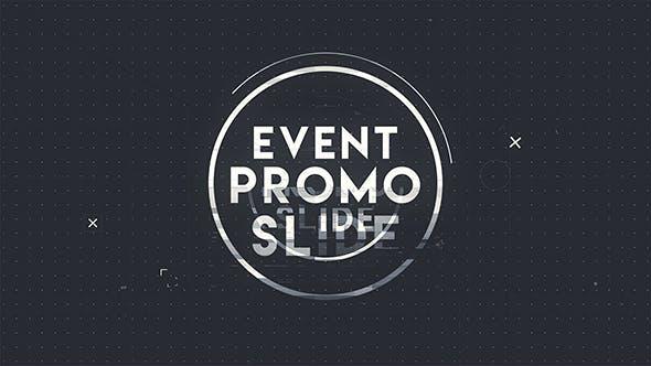 دانلود پروژه افترافکت با موزیک  اعلام برنامه Abstract Event Promo