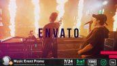 دانلود پروژه افترافکت با موزیک معرفی گروه موزیک Music Event Promo