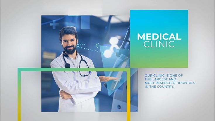 دانلود پروژه افترافکت با موزیک : پزشکی Medicals Medicine Healthcare Slideshow