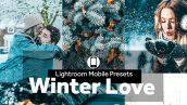 دانلود پریست رنگی لایت روم موبایل : Lightroom Mobile Presets Winter Love
