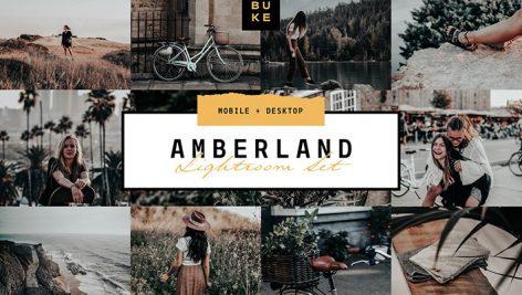 دانلود پریست لایت روم دسکتاپ و موبایل : Amberland Edition Lightroom Preset