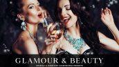 دانلود پریست لایت روم و Camera Raw و اکشن: Glamour Beauty Lightroom Presets