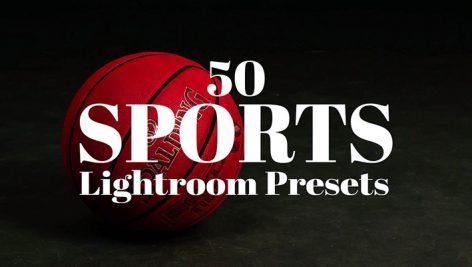 دانلود پریست لایت روم 50 عددی دسکتاپ : Sports Lightroom & Photoshop Presets