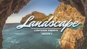 دانلود پریست لایت روم 30 عددی دسکتاپ : Landscape Lightroom Presets v2