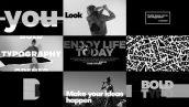 دانلود 51 تایتل آماده پریمیر تایپوگرافی Bold Typo Opener Titles for Premiere Pro