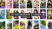 پروژه افترافکت استوری اینستاگرام با موزیک Instagram Story Templates