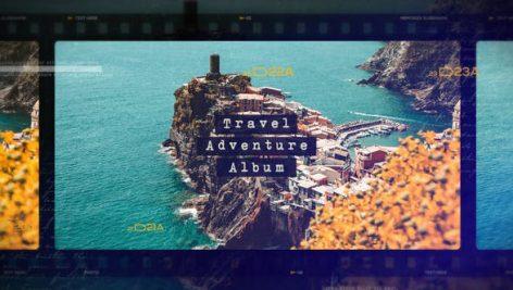 پروژه افترافکت با موزیک : آژانس مسافرتی Travel Adventure Album