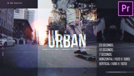 پروژه پریمیر حرفه ای با موزیک : مناسب تیتراژ و وله Urban Opener